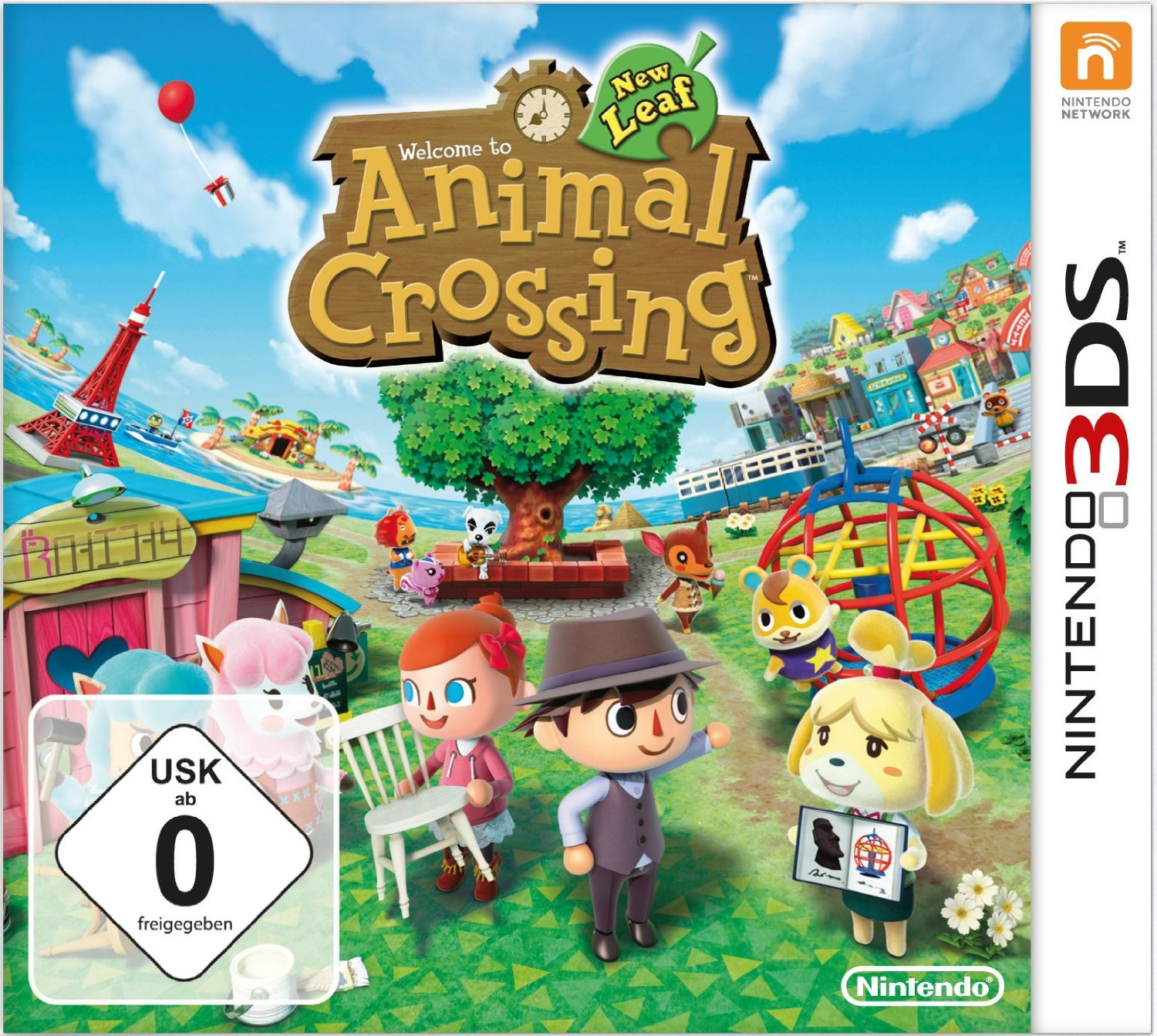 Welcome to Animal Crossing New Leaf
