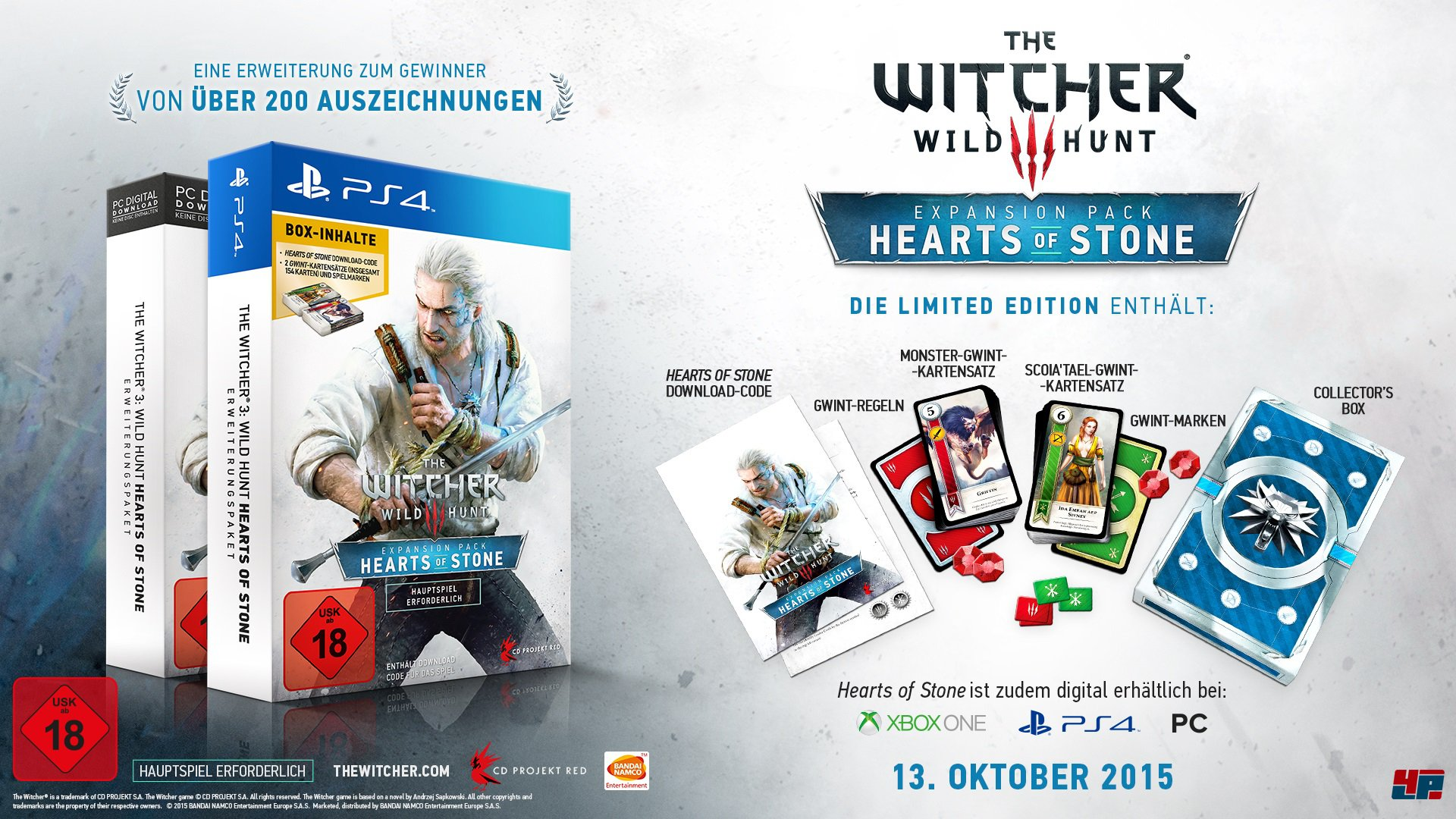 The Witcher III - Wild Hunt (DLC Hearts of Stone)