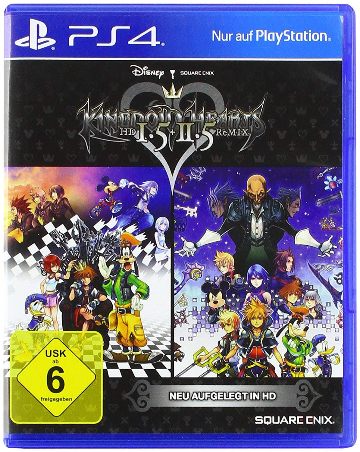Kingdom Hearts 1,5+2,5 ReMix